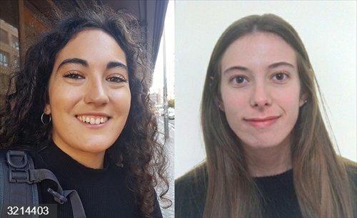 Zuberoa Glaría y Nerea Larraburu, premiados por un trabajo del título en Gestión de Empresa Familiar de la UPNA