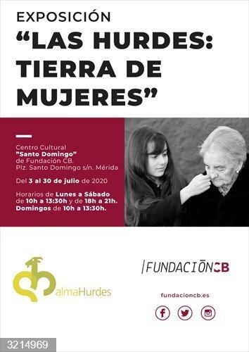 Cartel de la exposición en Mérida titulada