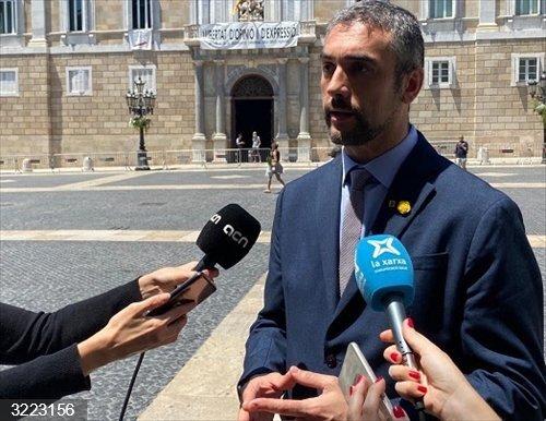 Coronavirus.- Solé llama a la normalidad de la actividad económica ante el brote del Segrià (Lleida)
