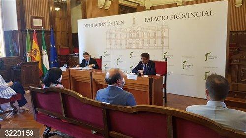 Jaén.- MásJaén.- Planas expone en el Consejo Provincial del Aceite de Oliva medidas para revertir la crisis de precios