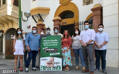 Sevilla.-Verónica Pérez critica al gobierno andaluz por