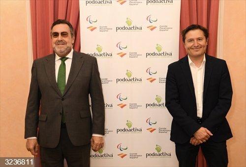 Varios.- Podoactiva renueva su compromiso con el deporte paralímpico y acompañará al equipo español en Tokio