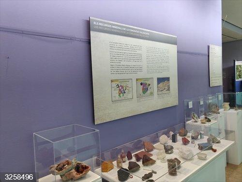 Valencia.- Los minerales y minas de la provincia llegan al Museo de Ciencias Naturales