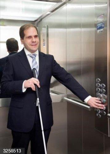 Cvirus.- La Fundación ONCE impulsa un sistema para tratar de minimizar el riesgo de contagio de Covid-19 en ascensores