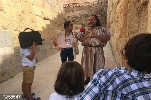 Cada día habrá una historia en el Teatro Romano de Cartagena
