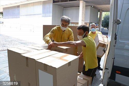 Junta realiza esta semana un nuevo envío a los centros sanitarios con más de 776.000 artículos de protección