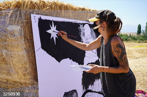 Espirdo (Segovia) reúne a pintores y fotógrafos en una edición más de Arte en la Naturaleza respaldada por la Diputación