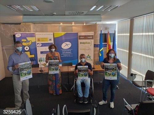 El XXVII Descenso del Sella Adaptado se celebra con un grupo reducido de deportistas con discapacidad
