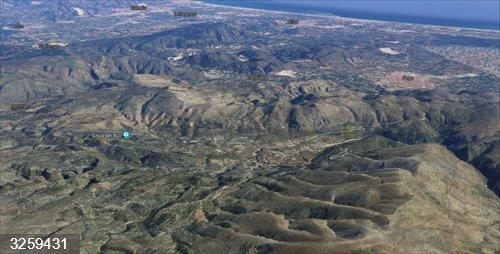 Alicante.- Sucesos.- Un ciclista de 61 años fallece tras salirse de la vía en la Vall d'Ebo