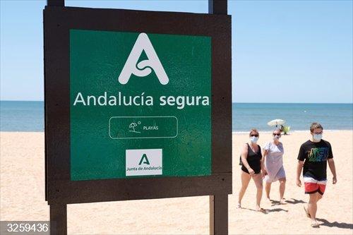 Turismo.- La Junta destaca que casi el 60% de la costa andaluza ya cuenta con el sello 'Andalucía Segura'