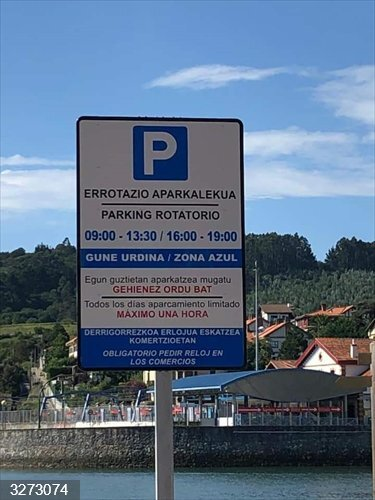 Plentzia (Bizkaia) habilita dos parkings rotatorios y gratuitos en Astillero y Plazatxoa