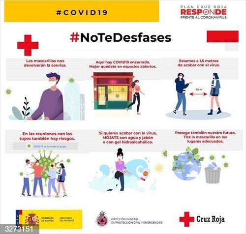 Cruz Roja llama a la responsabilidad para evitar