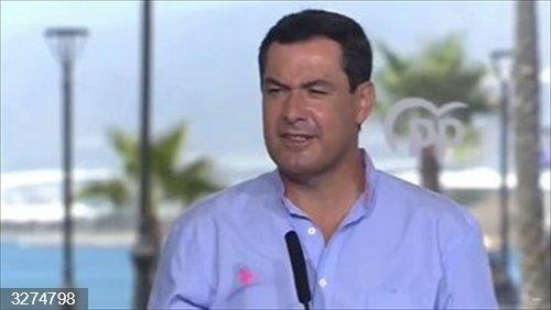 Cvirus.- Moreno exige a Sánchez que convoque en agosto unaConferencia de Presidentes para afrontar la vuelta al cole