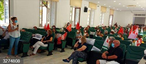 Málaga.- Adelante en la Diputación plantea movilizaciones e iniciativas para evitar el cierre del centro Guadalmedina