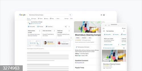 Google ya permite a las empresas actualizar sus perfiles desde el buscador y en Maps