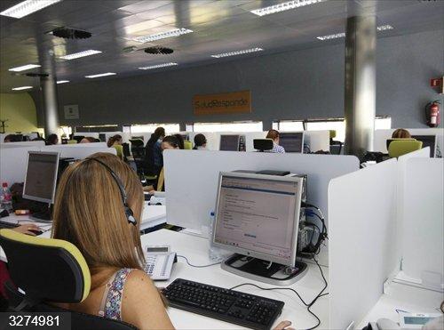Huelva.- Salud Responde realiza 2.263 llamadas de seguimiento a población de riesgo ante las altas temperaturas