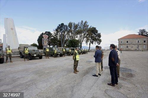 Rural.- El Ejército se incorpora a la vigilancia del monte y la Xunta avisa que será