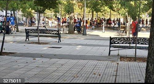 El Ayuntamiento de Cáceres clausura las pistas deportivas de Moctezuma por el incumplimiento de las normas Covid