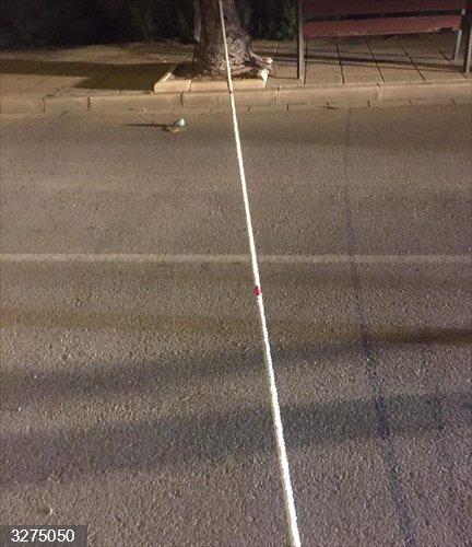 Almería.-Sucesos.-Policía Local de Pulpí busca a quien tensó una cuerda en la carretera y provocó un accidente de moto