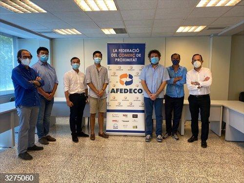 La asociación china Aechib se adhiere a Afedeco