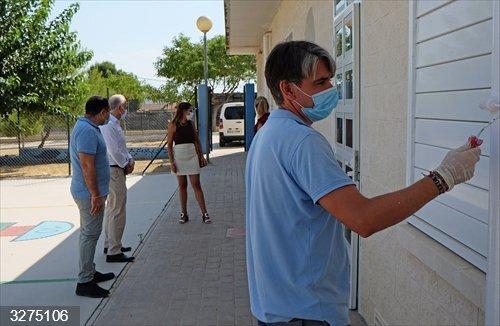 Los arreglos de verano en los centros docentes de Las Torres de Cotillas se centran en las medidas anti-COVID