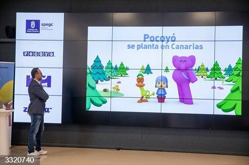 La productora de Pocoyó continuará creando contenidos desde Gran Canaria