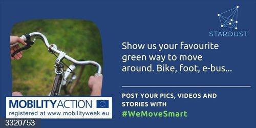 Pamplona se suma a la campaña europea '#WeMoveSmart' para difundir en redes sociales hábitos de movilidad sostenible