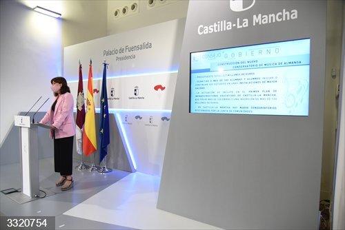 Luz verde al convenio entre Junta y Almansa para las obras del conservatorio de música por valor de 3,7 millones
