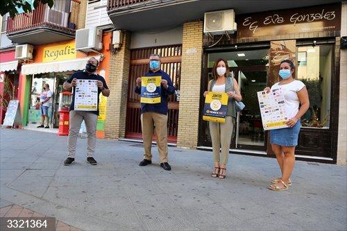 Sevilla.- Ayuntamiento de Alcalá de Guadaíra hace una llamada al consumo local para revitalizar al empresariado