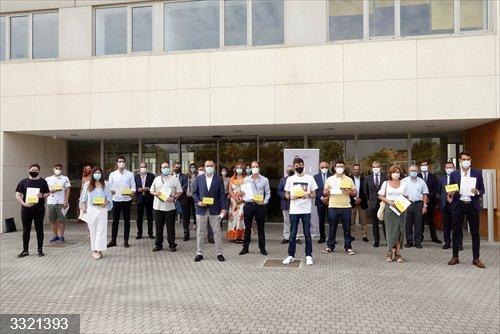 Málaga.- La Universidad de Málaga anima a los ganadores del Concurso Spin Off a desarrollar sus ideas de emprendimiento