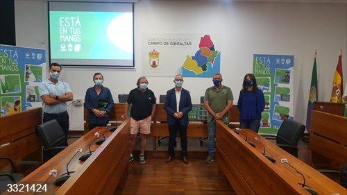 Cádiz.- Mancomunidad de Municipios del Campo de Gibraltar y Verdemar presentan la campaña 'Está en tus manos'