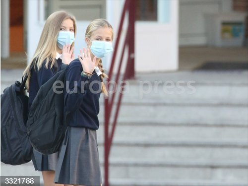 Coronavirus.- La prueba PCR de la Princesa de Asturias ha dado negativa pero guardará la cuarentena