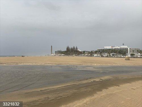 El agua de la Charca de Maspalomas (Gran Canaria) se renovará con las mareas del Pino gracias a un canal provisional