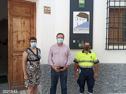 Almería.- Turismo.- La Junta invierte más de 70.000 euros en actuacioones en atractivos turísticos de Alboloduy