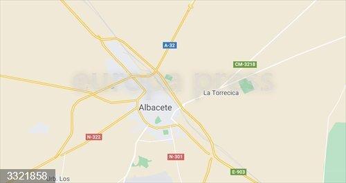 Sucesos.- Atienden a dos personas tras el incendio de un piso en un bloque de viviendas de Albacete