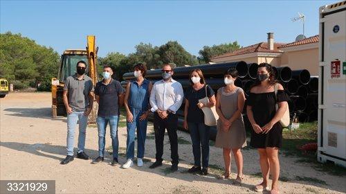 El ITS financia la sustitución parcial de la red de saneamiento de Ciutadella Sur