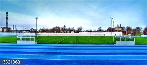 Jaén.- Sucesos.- Roban toda la instalación eléctrica del campo de fútbol municipal de Baeza