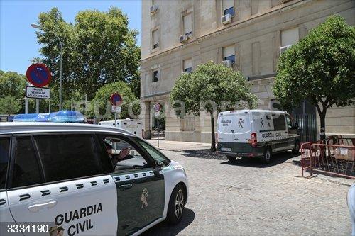 Sevilla.- Sucesos.- Prisión para dos jóvenes acusados de herir de muerte a un hombre en un cumpleaños en Aznalcóllar