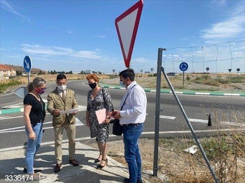 Junta y Ayuntamiento Seseña colaboran para reducir el ruido del tránsito de vehículos por la carretera CM-4100
