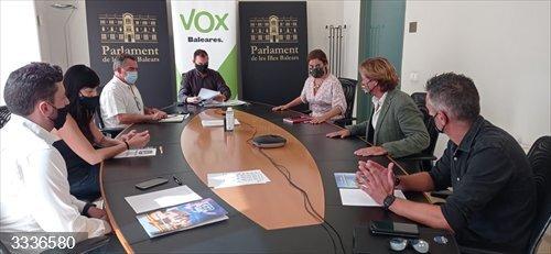 Vox Baleares pide que una unidad de intervención policial se destine