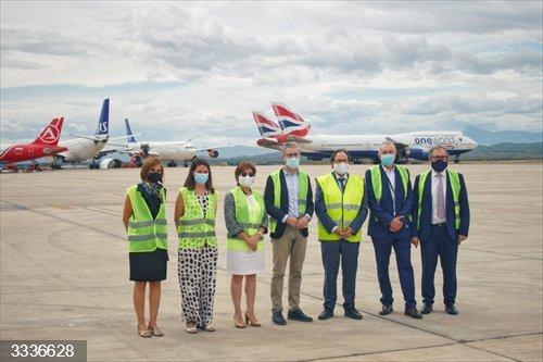 El aeropuerto de Castellón alcanza un acuerdo para la llegada de 16 aviones para su estacionamiento y mantenimiento