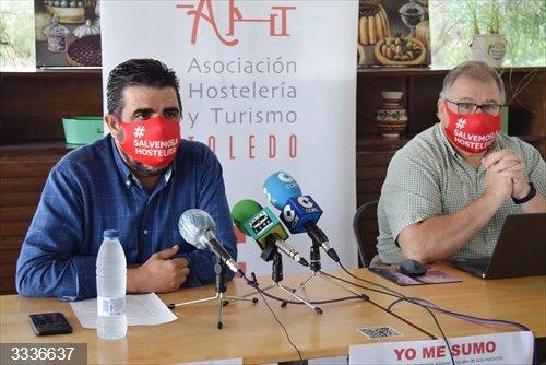 Hosteleros de Toledo se concentrarán para denunciar su