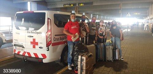 Un equipo de Cruz Roja Extremadura se desplaza a Canarias para ayudar en el operativo de atención a personas migrantes