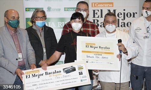 Premios al Mejor Bacalao de España<br>REMITIDA / HANDOUT por DMDIMA<br>Fecha: 04/11/2014.                 <br>Fotografía remitida a medios de comunicación exclusivamente para ilustrar la noticia a la que hace referencia la imagen, y citando la procedencia de la imagen en la firma