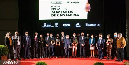 Revilla vaticina un gran futuro al sector agroalimentario de Cantabria porque, pese a la crisis,