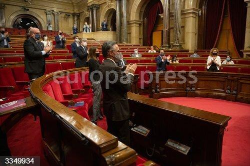El pleno sobre la inhabilitación se retoma tras rechazarse las reconsideraciones de Cs y PSC