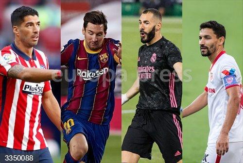 Fútbol/Champions.- Real Madrid, Barça, Atlético y Sevilla conocen su primer camino en la Champions