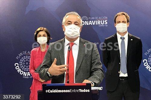 El exministro de Salud de Chile, Jaime Mañalich.<br>Fecha: 14/10/2020.