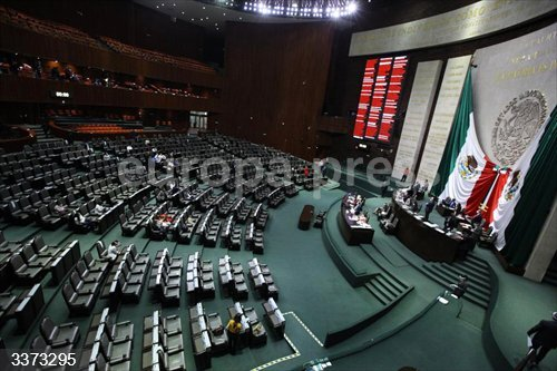 La Cámara de Diputados de México<br>Fecha: 14/10/2020.