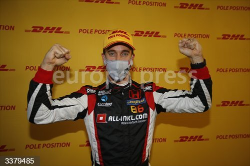 GUERRIERI Esteban (arg), ALL-INKL.DE Munnich Motorsport, Honda Civic TCR, portrait during the 2020 FIA WTCR Race of Hungary, 4th round of the 2020 FIA World Touring Car Cup, on the Hungaroring, from October 16 to 18, 2020 in Mogyoród, Budapest, Hungary - Photo Paulo Maria / DPPI